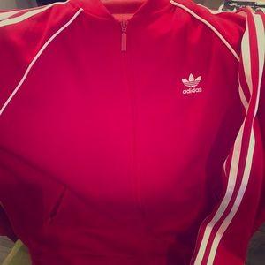 Classic Adidas Track Jacket - Medium